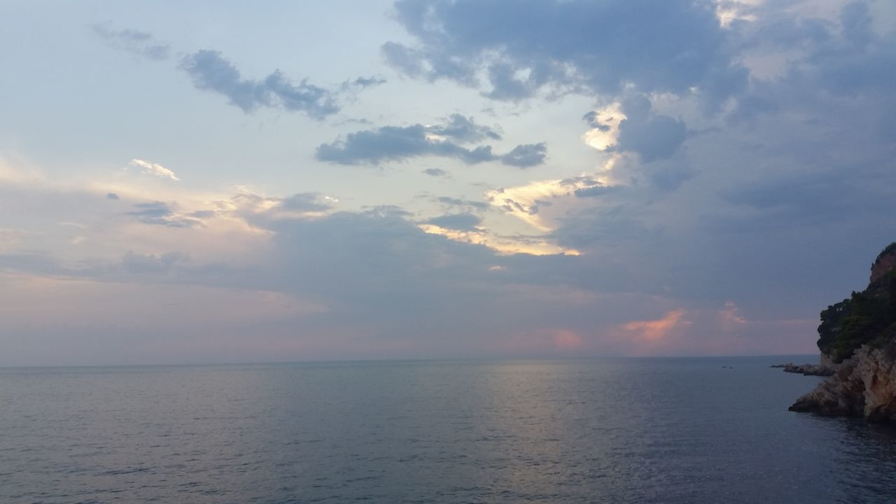 Adriatic Coast Beach Beauty In Nature Cloud - Sky Day Landscape Montenegro Wild Beauty Nature No People Old Town Outdoors Sea Sea And Sky Sky Sunset Travel Photography Traveling Water