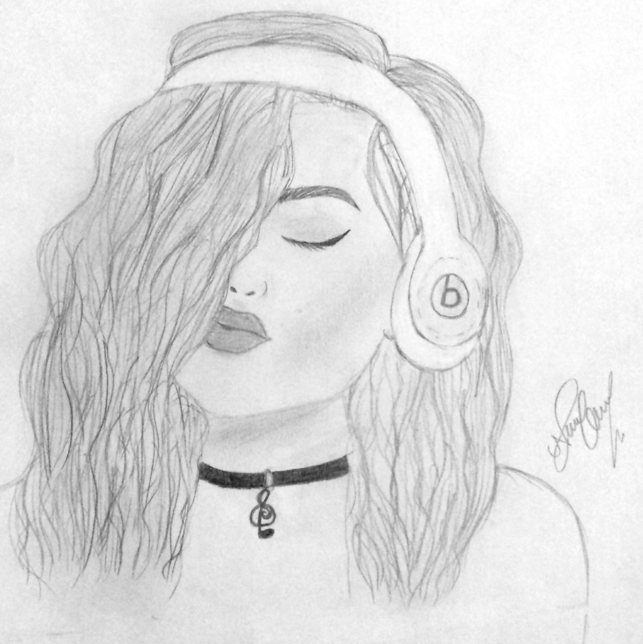 TakeoverMusic Drawing ✏ MadebyMe ☝✌ MusicIsArt
