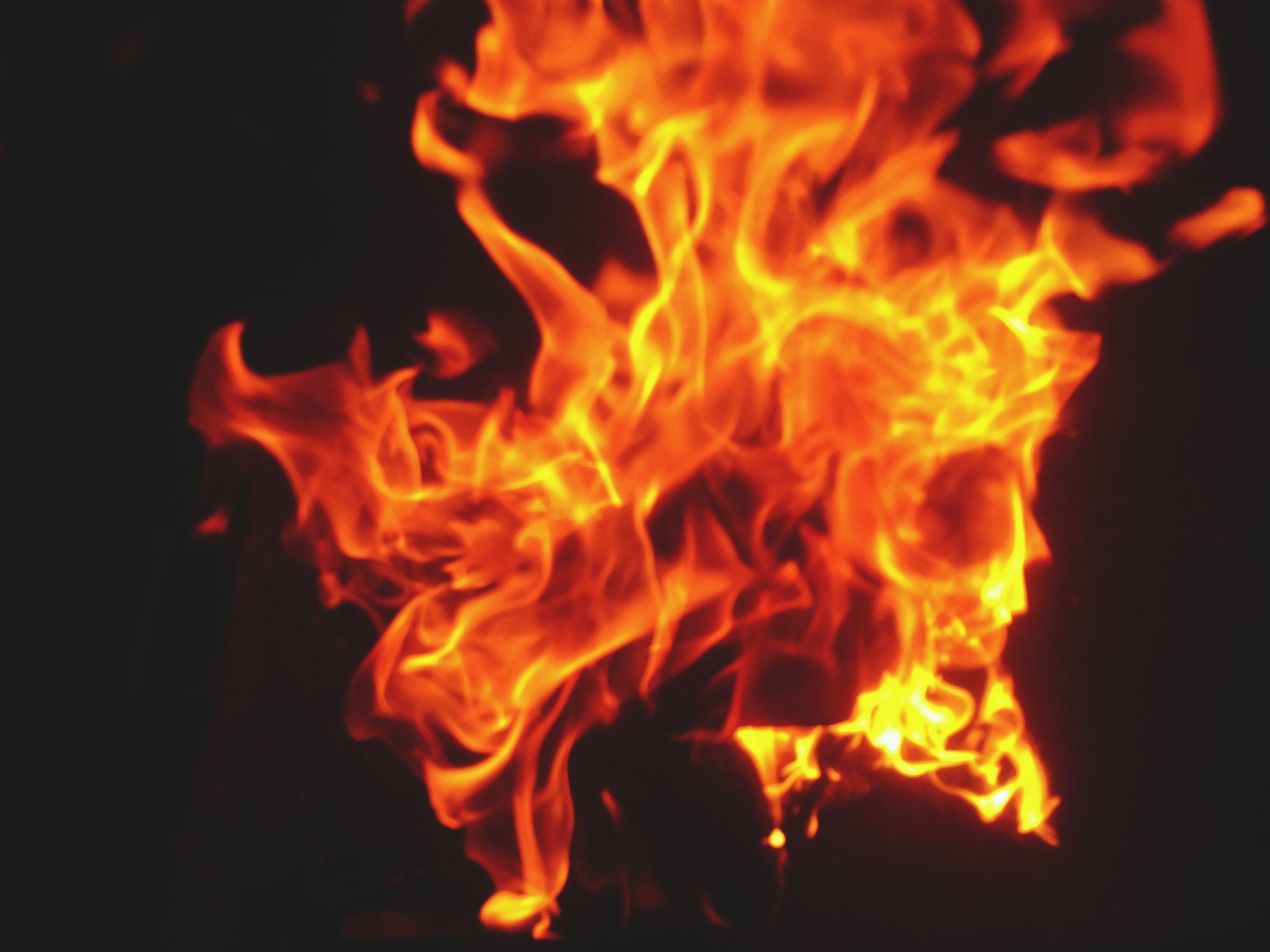 burning, flame, heat - temperature, fire - natural phenomenon, bonfire, glowing, night, orange color, campfire, firewood, fire, close-up, heat, motion, dark, yellow, no people, light - natural phenomenon, outdoors, long exposure