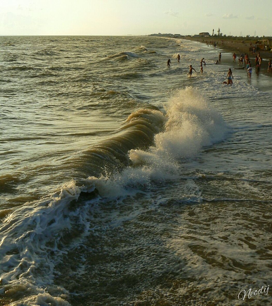 Hello World Waves новофедоровка Crimea Life On The Beach From My Point Of View EyeEm Best Shots