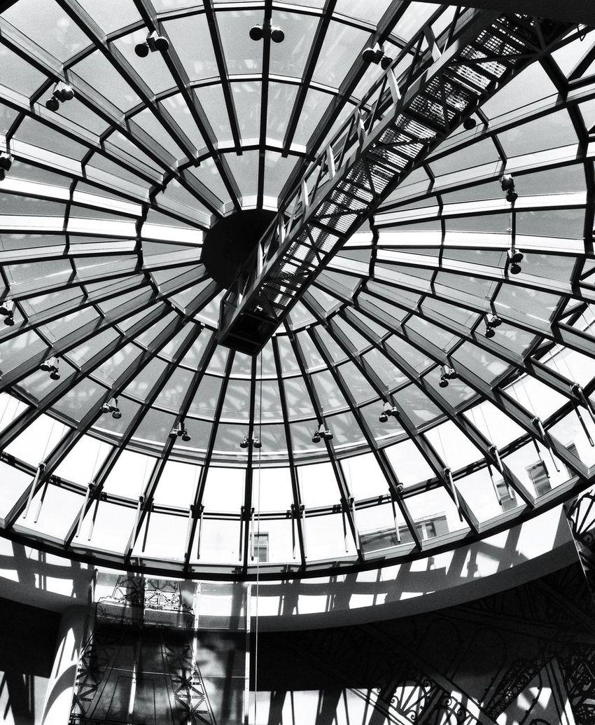 * freedom, a golden cage * Hans Guck In Die Luft Architecture Black And White Blackandwhite