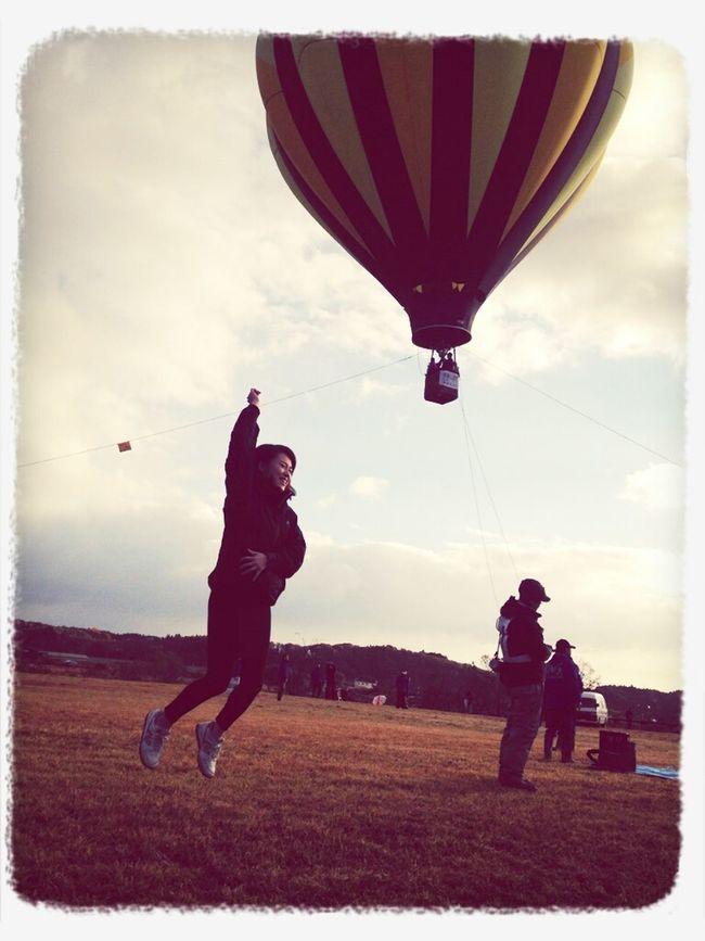 I'm jump and baloon!
