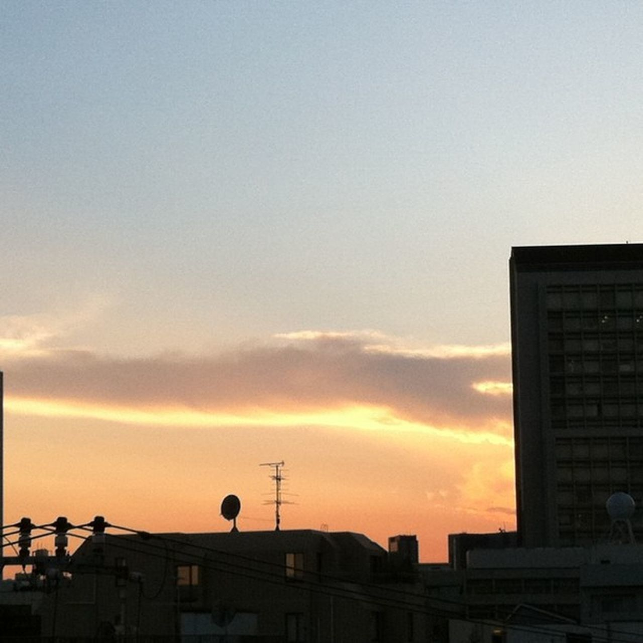 sunset, built structure, architecture, building exterior, sky, city, silhouette, cloud - sky, outdoors, no people, travel destinations, low angle view, nature, cityscape, day