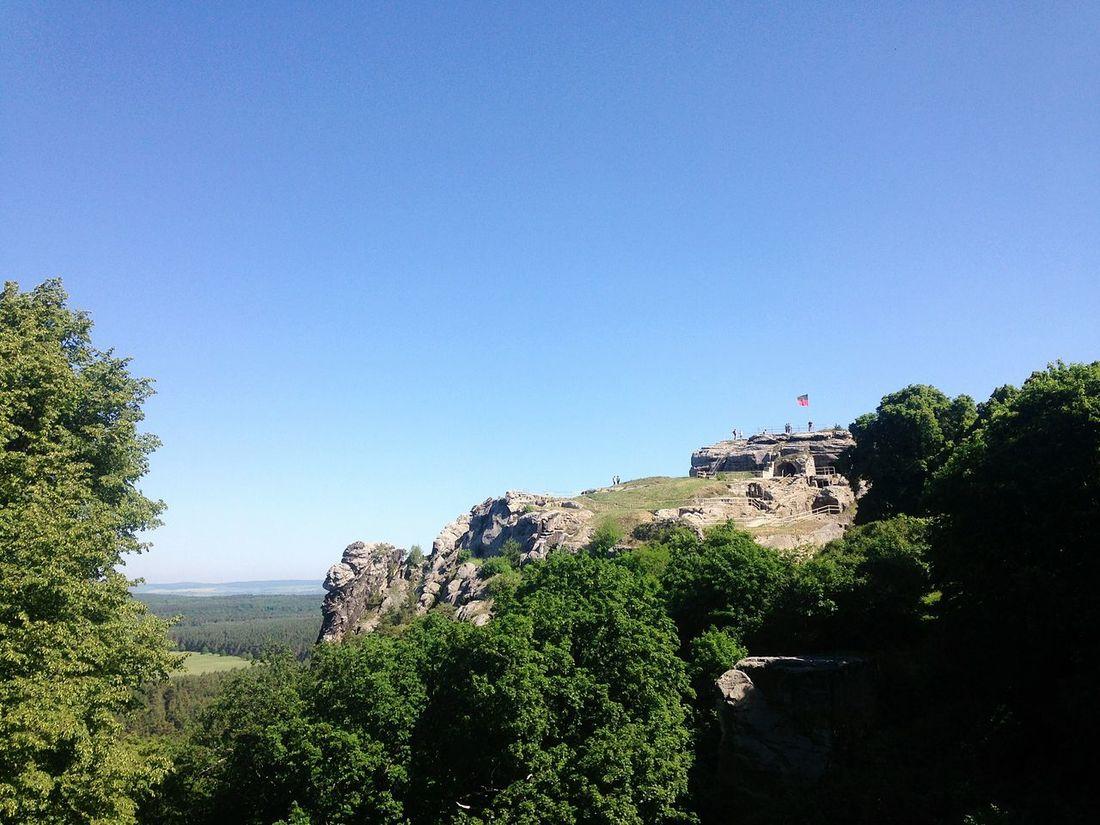 Ruins Harz Rock Regenstein