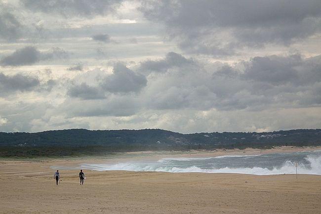 Grey skies On The Beach Life Is A Beach