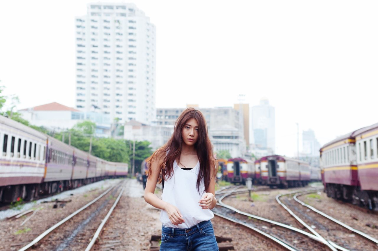 Portrait Subway Train Station Portrait Of A Woman Beautiful Girl Check This Out Popular Photos
