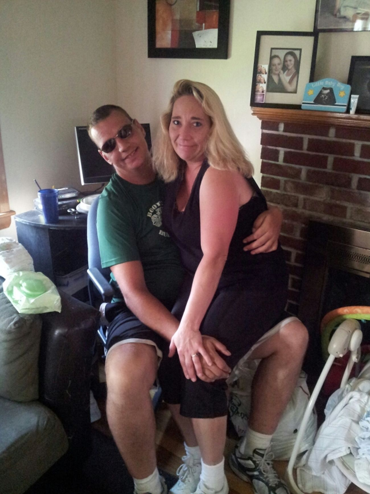 Me & My Boyfriend Rob At My Son's House