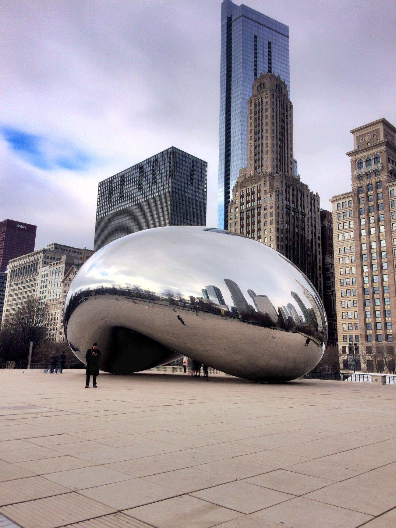 Cloud Gate Cloudgate Thebean Mellinnium Park Chicago Loop Windycity