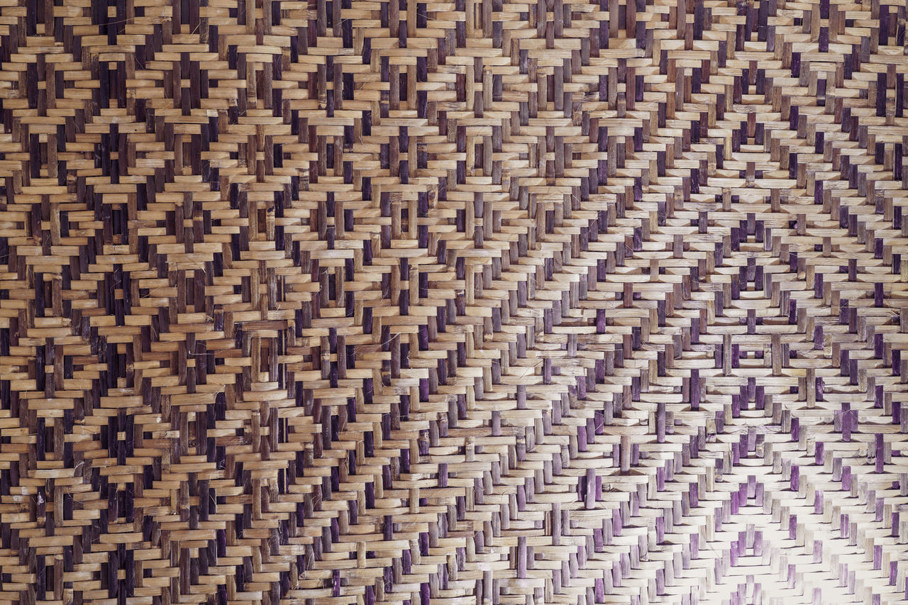 Bamboo Plait Stripes Everywhere Woven Bamboo