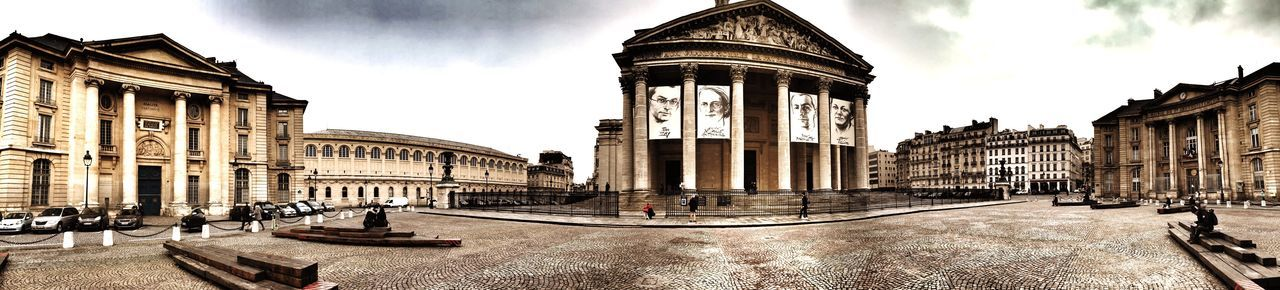Panorama Paris, France  Paris Streetphotography Planetarium Beautiful Houses