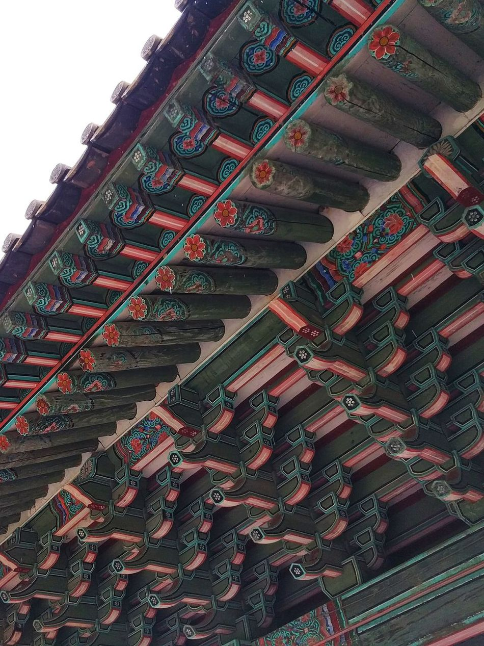 Dancheong Korean Traditional Architecture Ornate Eaves The Architect - 2016 EyeEm Awards Buddhist Temple