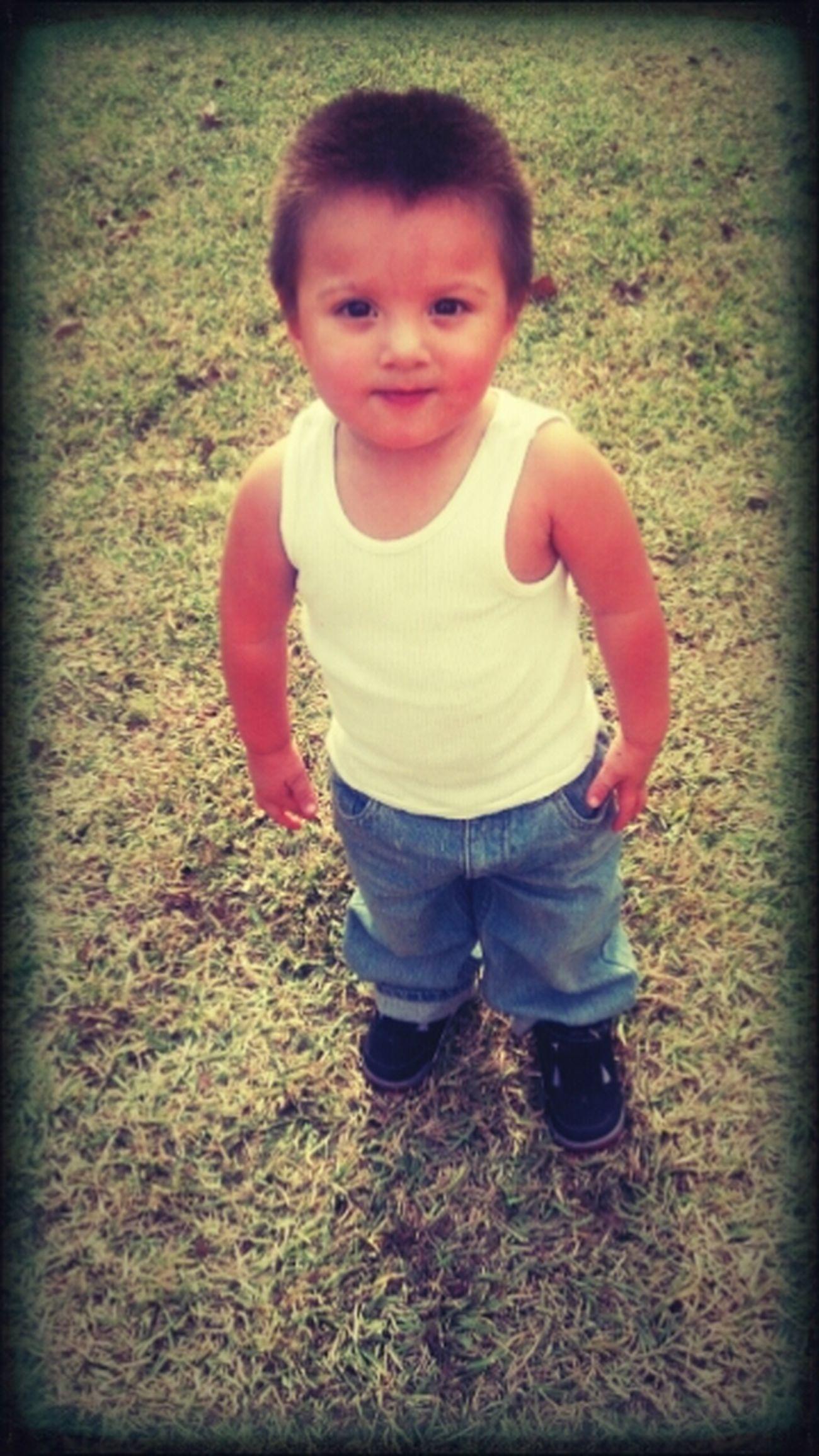 Jordan♥ mommas baby.