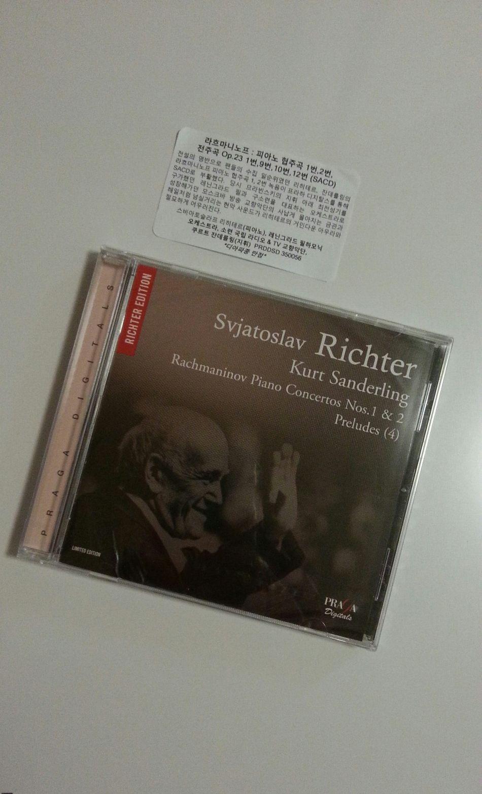 망한 포맷 SACD;;) Rachmaninov Svjatoslav Richter Kurt Sandering
