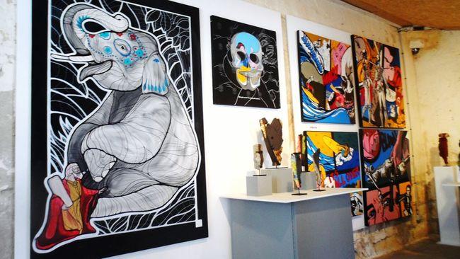 Peinture Visite Artiste Art Galeriedart Vacance Excursion Sortie Sortieenfamille Couleur