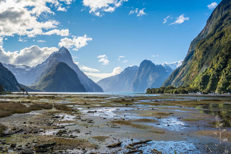 Beautiful stock photos of berge, Distant, Landscape, Sky, Wide Shot