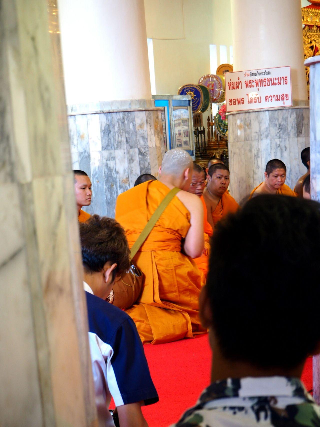 Monkhood Ayutthaya | Thailand ประเทศไทย Brother Ayudhaya My Memories Buddhist Monks Happy to see what you do, Bro ~~