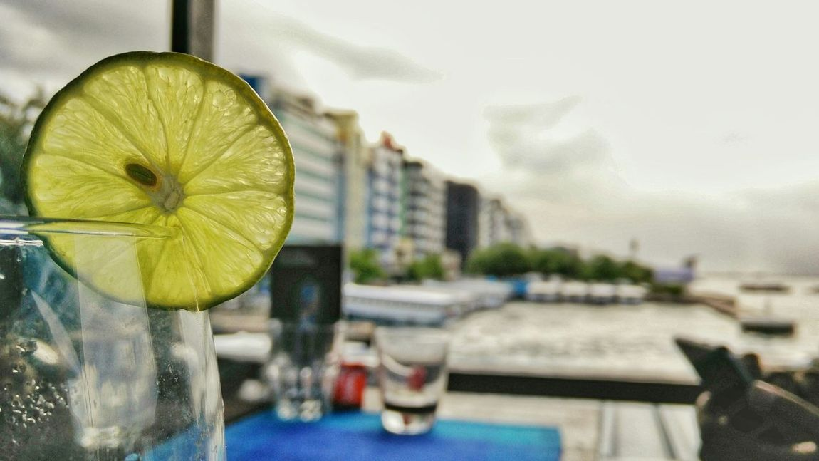 Life gave u a lemon?.. Slice it, make two glasses of ice lemon tea, garnish it and get company ;) Silvalines Garnish Lemon Drink Ice Tea