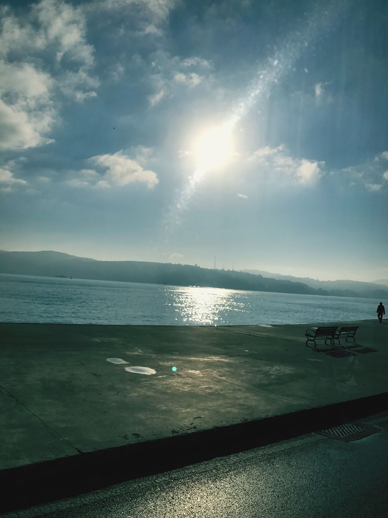 Sky Water Sea Cloud - Sky Sunlight Nature Scenics Day Beauty In Nature Tranquility Horizon Over Water Beach No People Outdoors