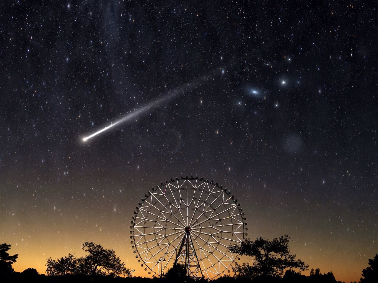 Shooting Star| Night Astronomy Sky Low Angle View Star - Space Galaxy Beauty In Nature Scenics Outdoors No People Illuminated Arts Culture And Entertainment Nature Star Trail Space Star Light And Shadow Sunset Silhouette Sunset Silhouettes Sunset_collection Nightphotography Night Lights Night Photography Beautiful