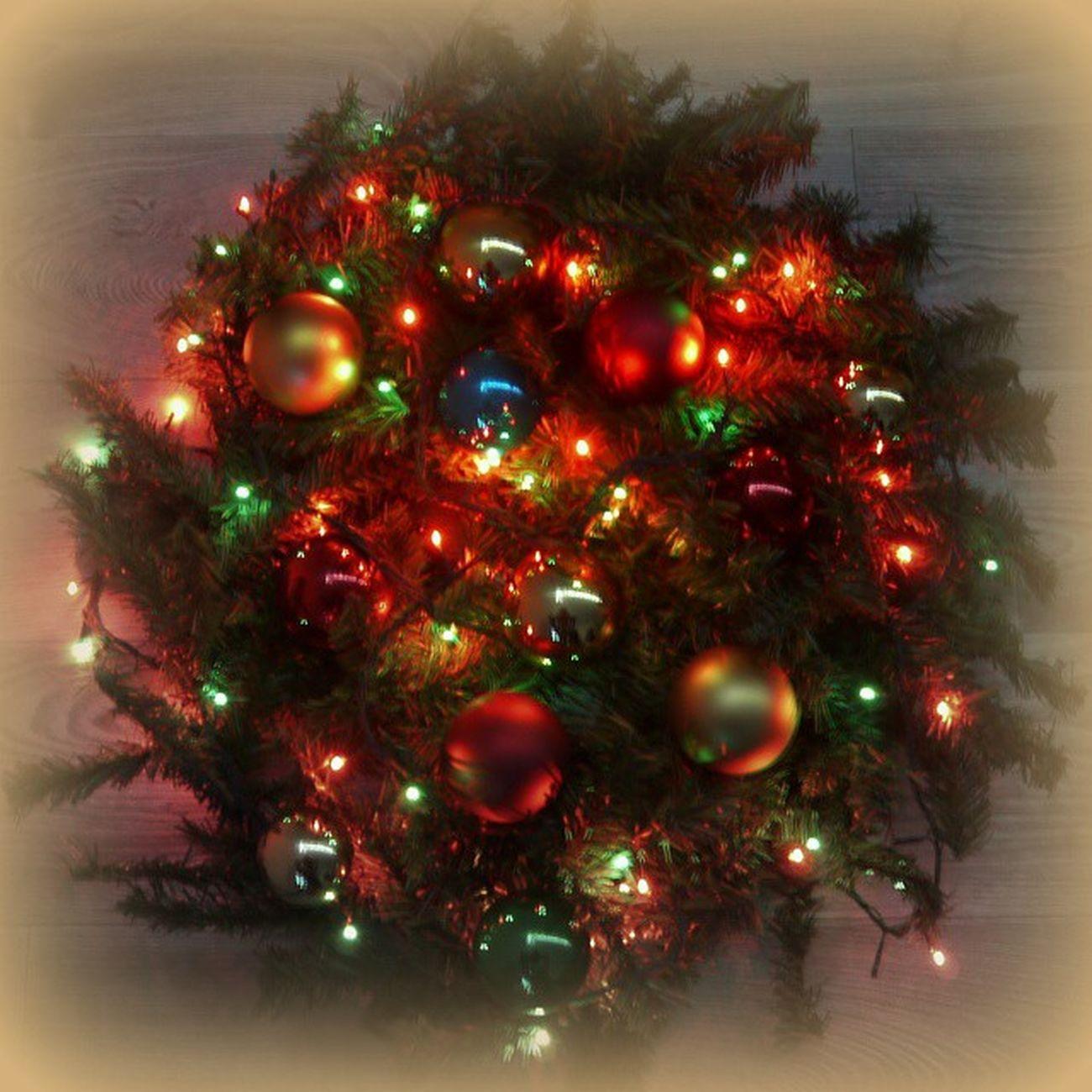 омск сибирь новыйгод рождество ёлка венок гирлянда NewYear Christmastree Christmas Swag Wreath
