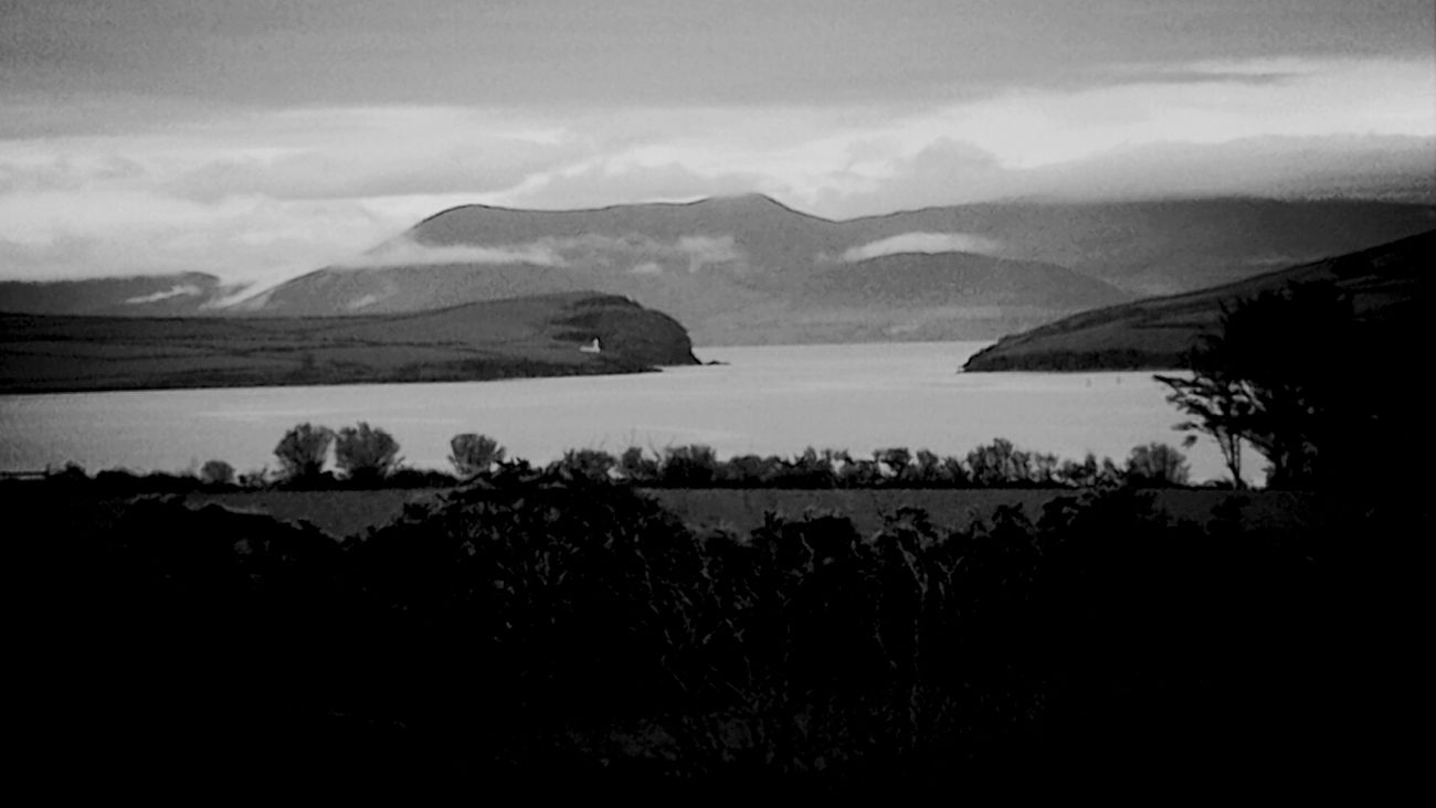 Black & White Nature Kerry Ireland, Dingle Bay Ireland