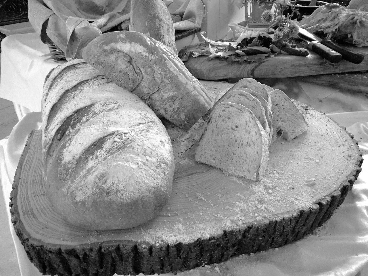 food, food and drink, bread, baked, freshness, ready-to-eat, close-up, no people, healthy eating, indoors, bakery, french food, loaf of bread, plate, day
