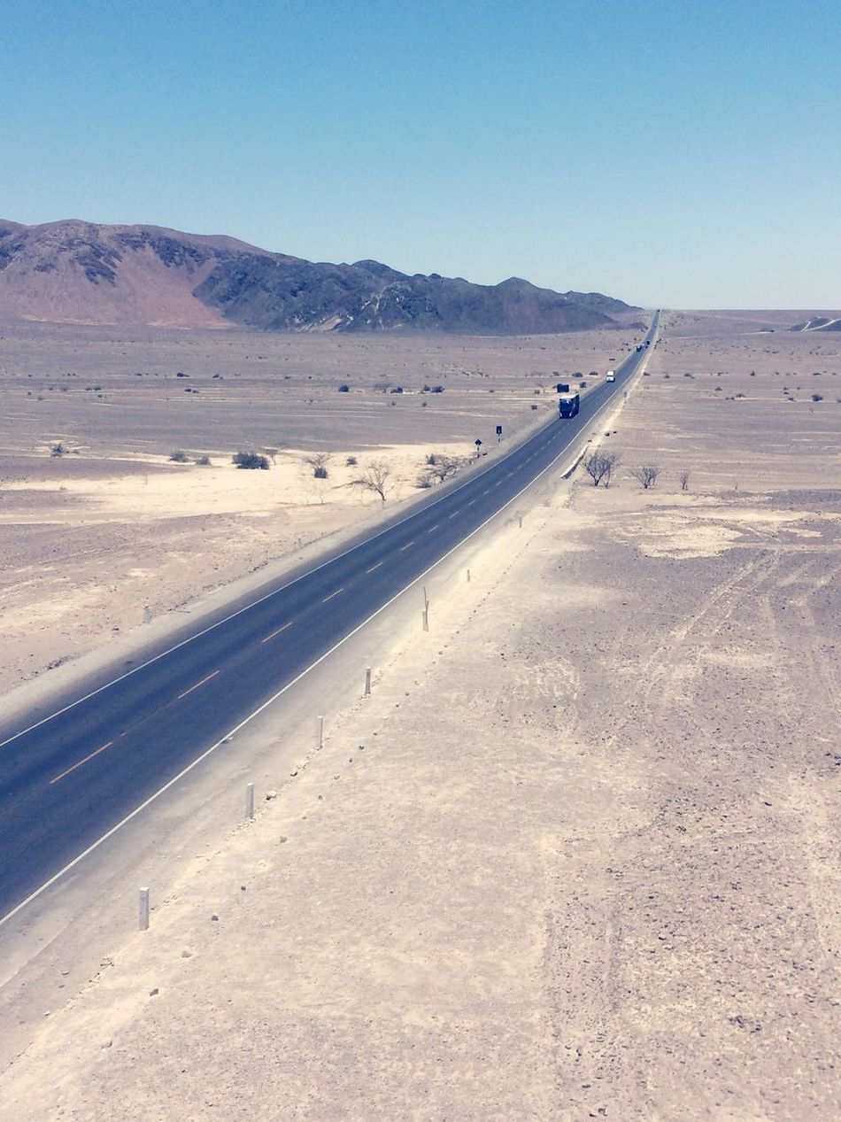 Peru Desert Panamerican Road Panamerican Highway Nazca Traveling Travel Road Roadtrip