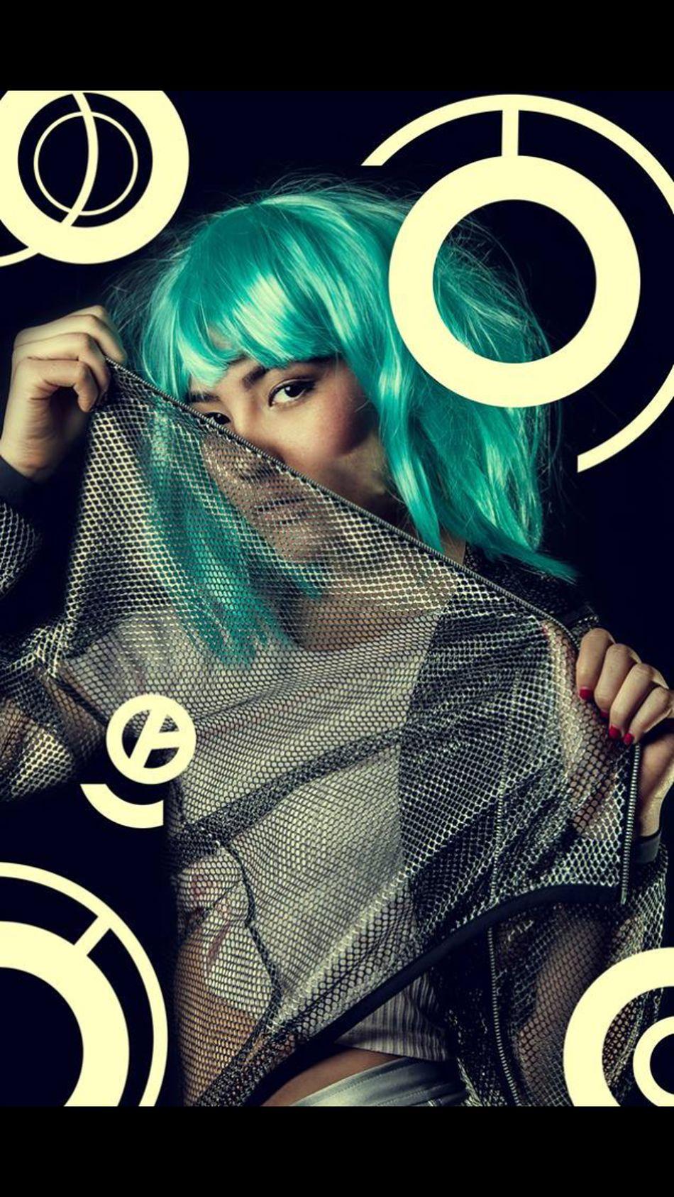 Striking Fashion Asian Eccentricity