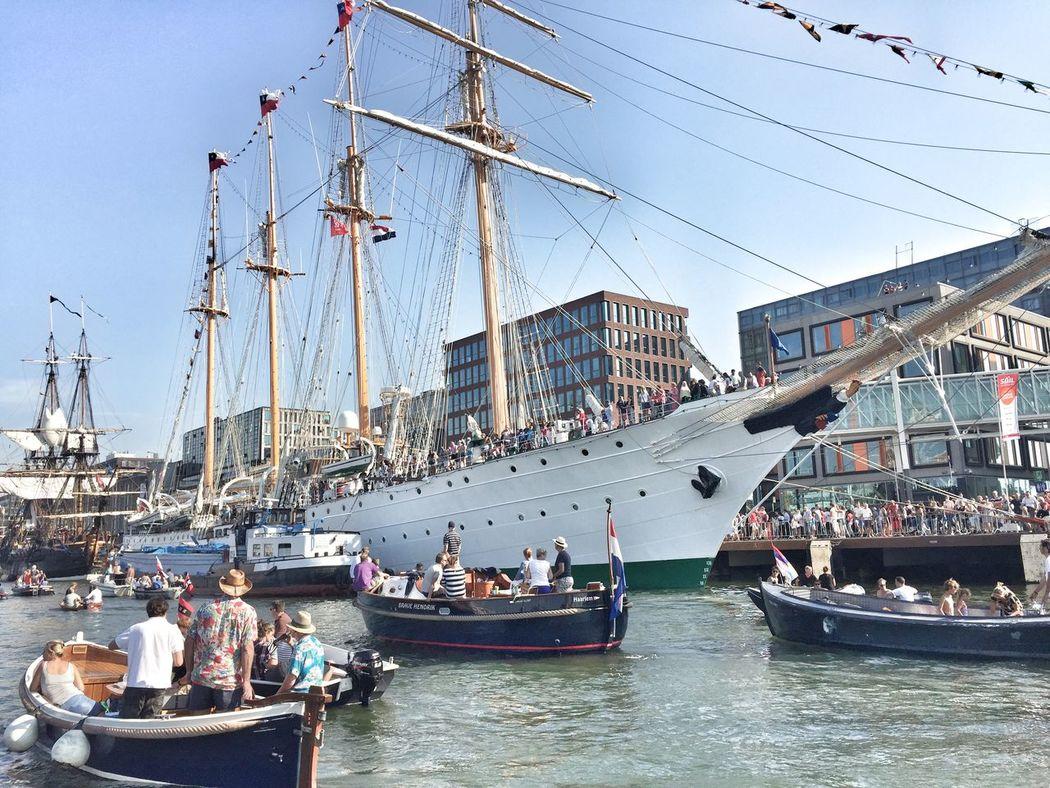 Sail2015 Tall Ships Amsterdam Boats