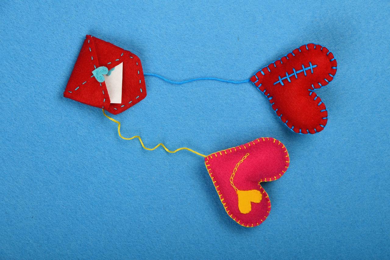 Beautiful stock photos of envelope,  Art,  Art And Craft,  Blue,  Close-Up