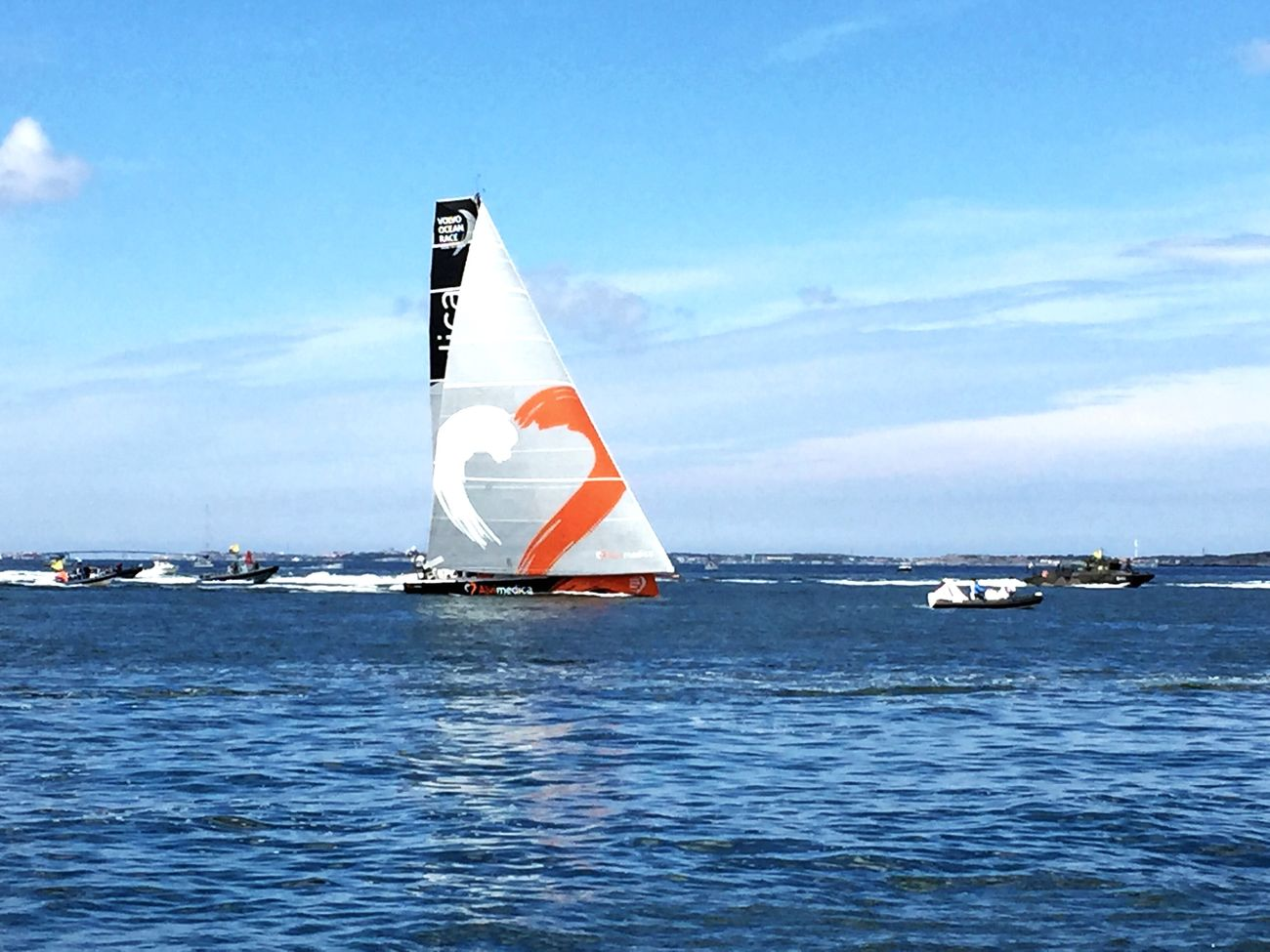 Team Alvimedica finished first to Gothenburg Alvimedica Volvooceanrace  Vor