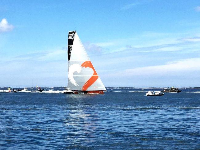 Team Alvimedica finished first to Gothenburg Alvimedica Volvooceanrace  Vor