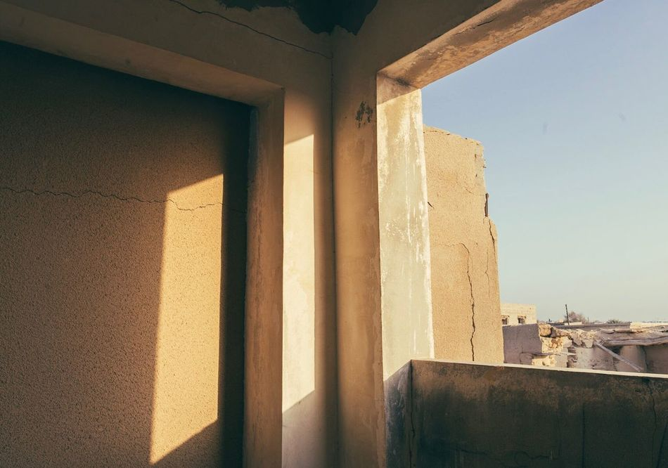 Ghost town Built Structure Architecture Window Indoors  Sunlight Building Exterior No People Day United Arab Emirates Ghost Town Abandoned