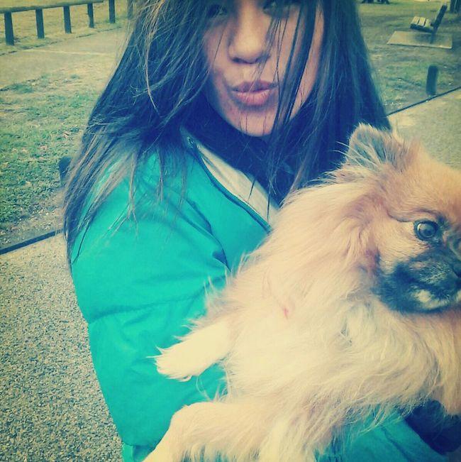walking with my dog:) Walking Around