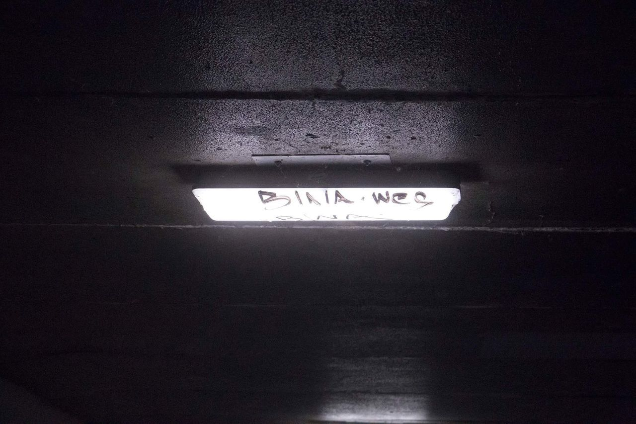 Text Close-up No People Electricity  Technology Architecture Light Tunnel Urban Urban Photography Dusk
