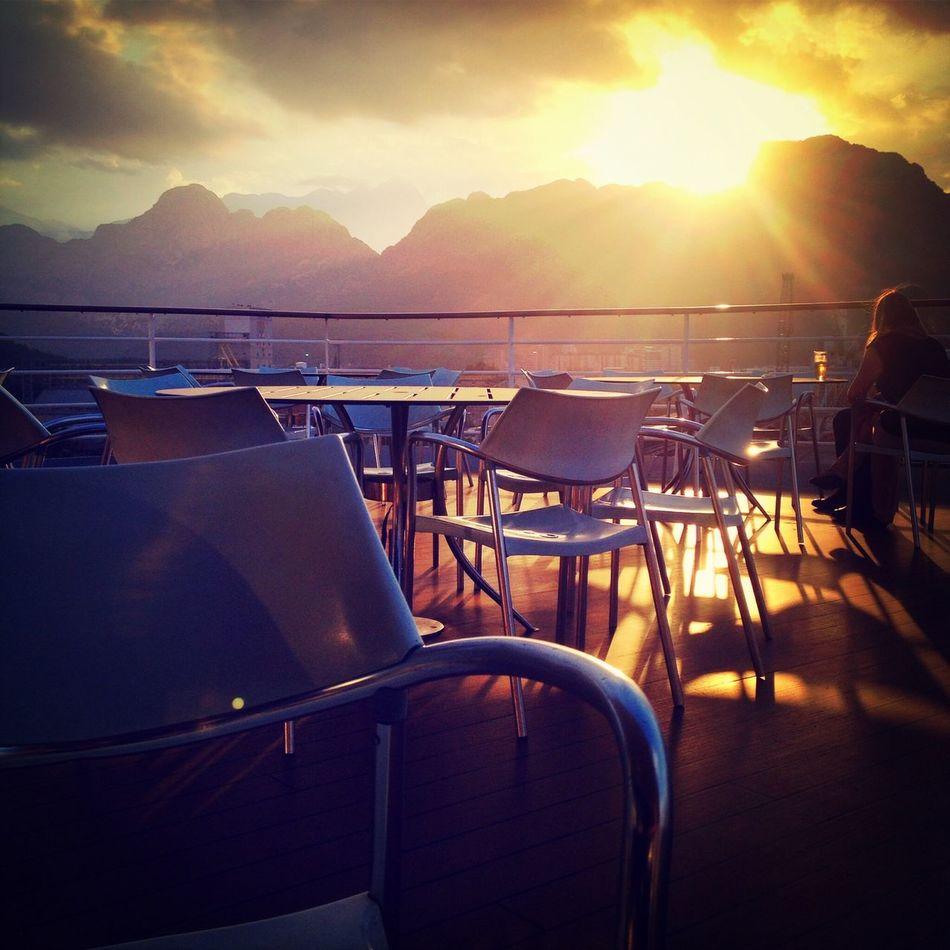 Sunset Enjoying The View Light Up Your Life Summer