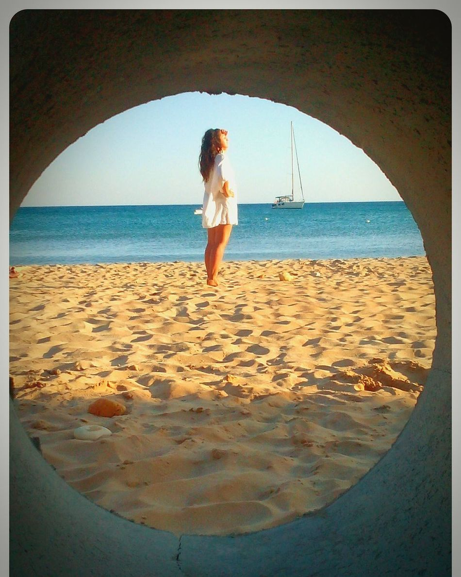 Goldenhour Goldsand That's Me Photoshooting Bestfeelingintheworld  Hotday Blue Sea Sunny Morning Milos Island Sunnyday☀️ Bestview Relaxing