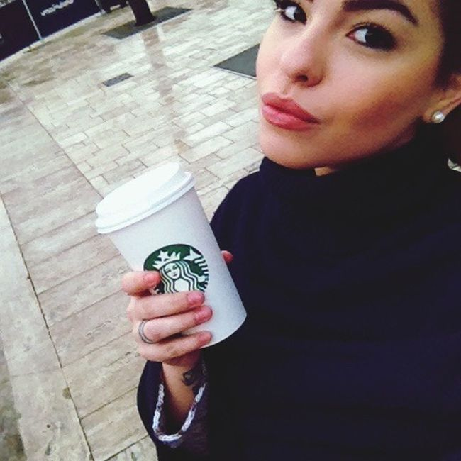 Goodmorning ♥ Starbucks Coffee Lovecoffee Nocoffeenolife Rainday Budapestagram Budapest, Hungary Vacation Winter Ilovebudapest