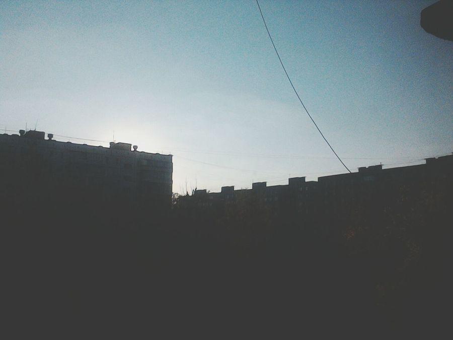 вечер орел скоро Закат :)