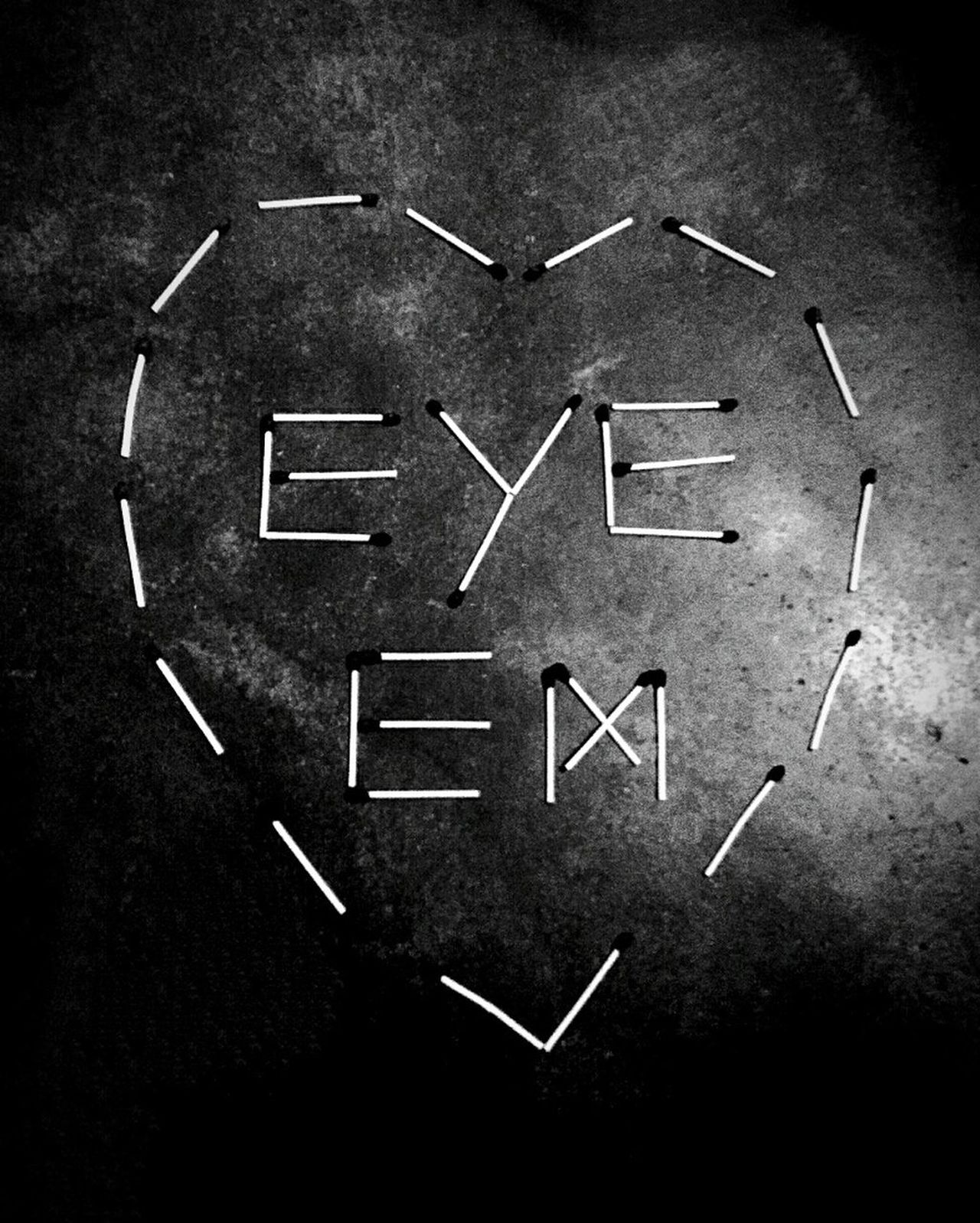 Black And White Photography EyeEm Lover Love ♥ Simple Photography Match Stick Attraction Art Is Everywhere Romantic Chalk Drawing Blackboard  No People Studio Shot Handwriting  Education Black Color Indoors  Time Black Background Day Stone EyeEmNewHere Secondeyeemphoto IndoorPhotography EyeEmNewHere