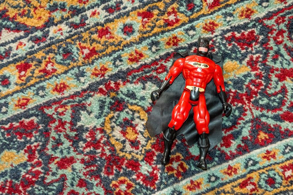 Red High Angle View Close-up No People Figurine  Day Outdoors