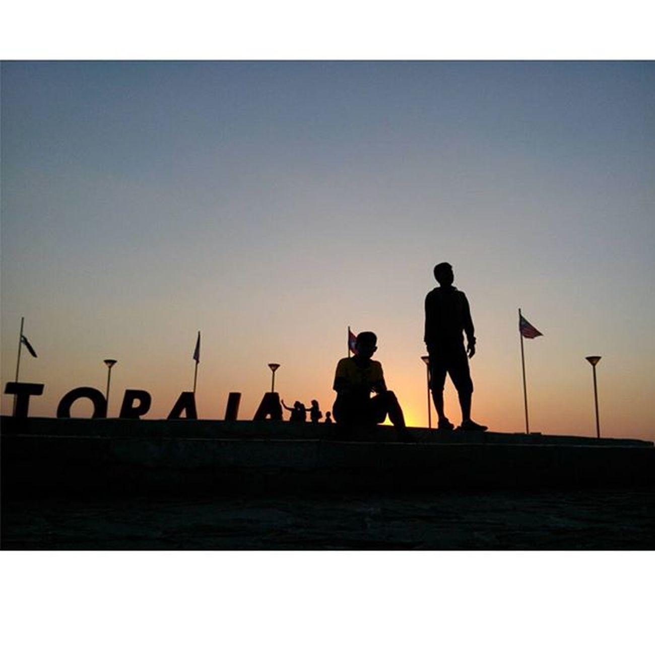 Sisa sore tadi Sunset Anjungan PantaiLosari Makassarcity AseanMayorsForum
