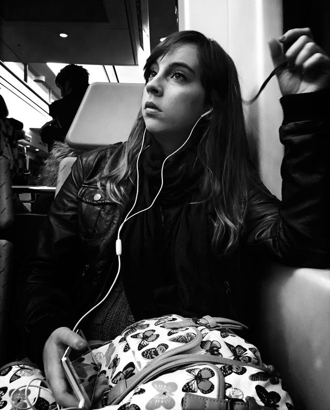 Streetphoto_bw Woman Bw_collection Monochrome_life