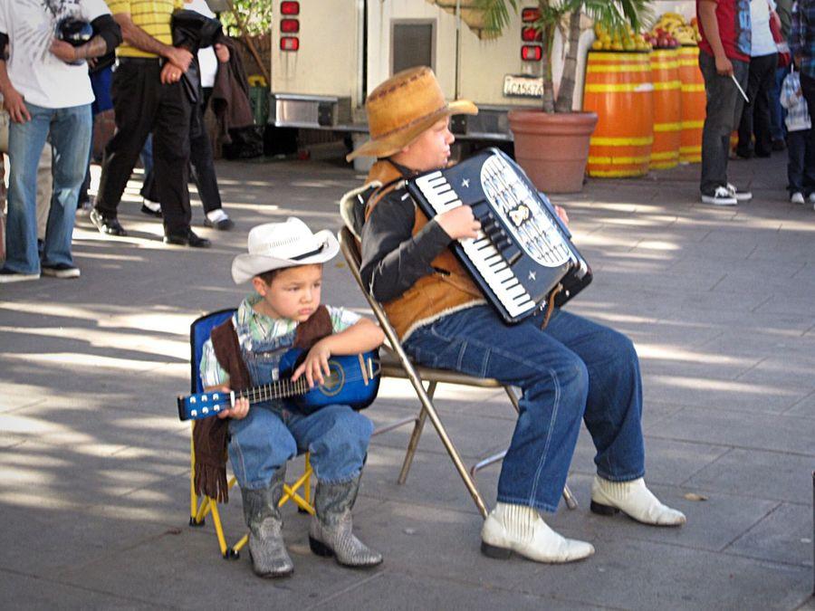 Little Cowboy Cowboy Music Children Photography Musicians Concert Boys Childhood Acordeón Guitar Texans Kids Kidsphotography