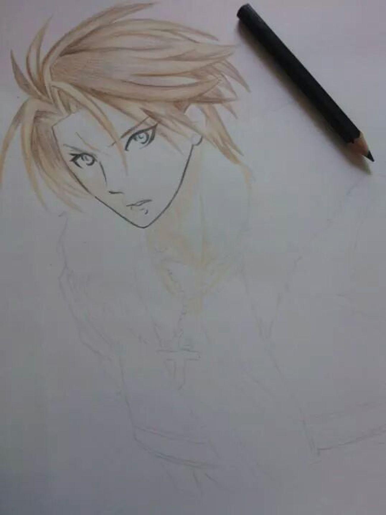Squall Finalfantasy Drawing