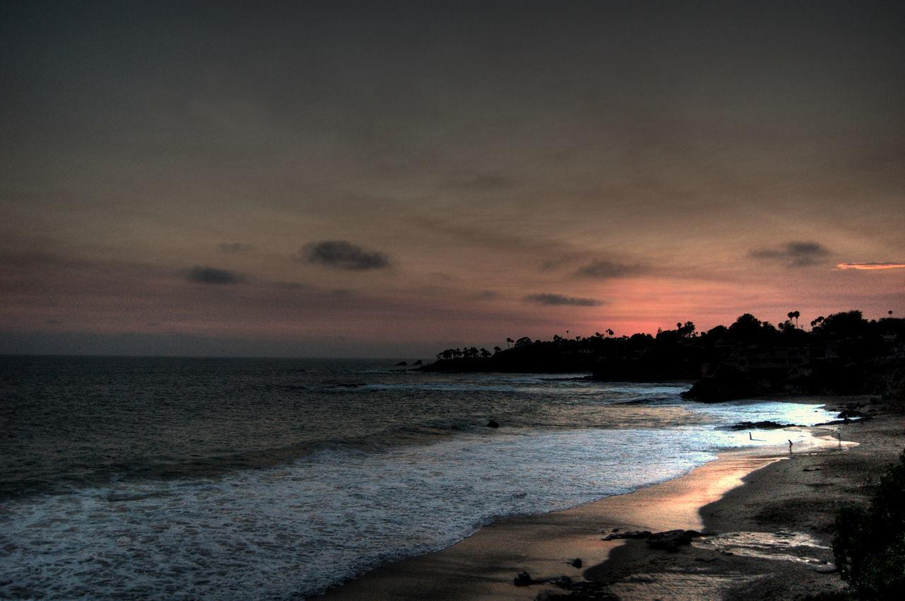 Beauty In Nature Horizon Over Water Laguna Beach, CA Nature Scenics Sky Sunset Tranquil Scene Water EyEmNewHere