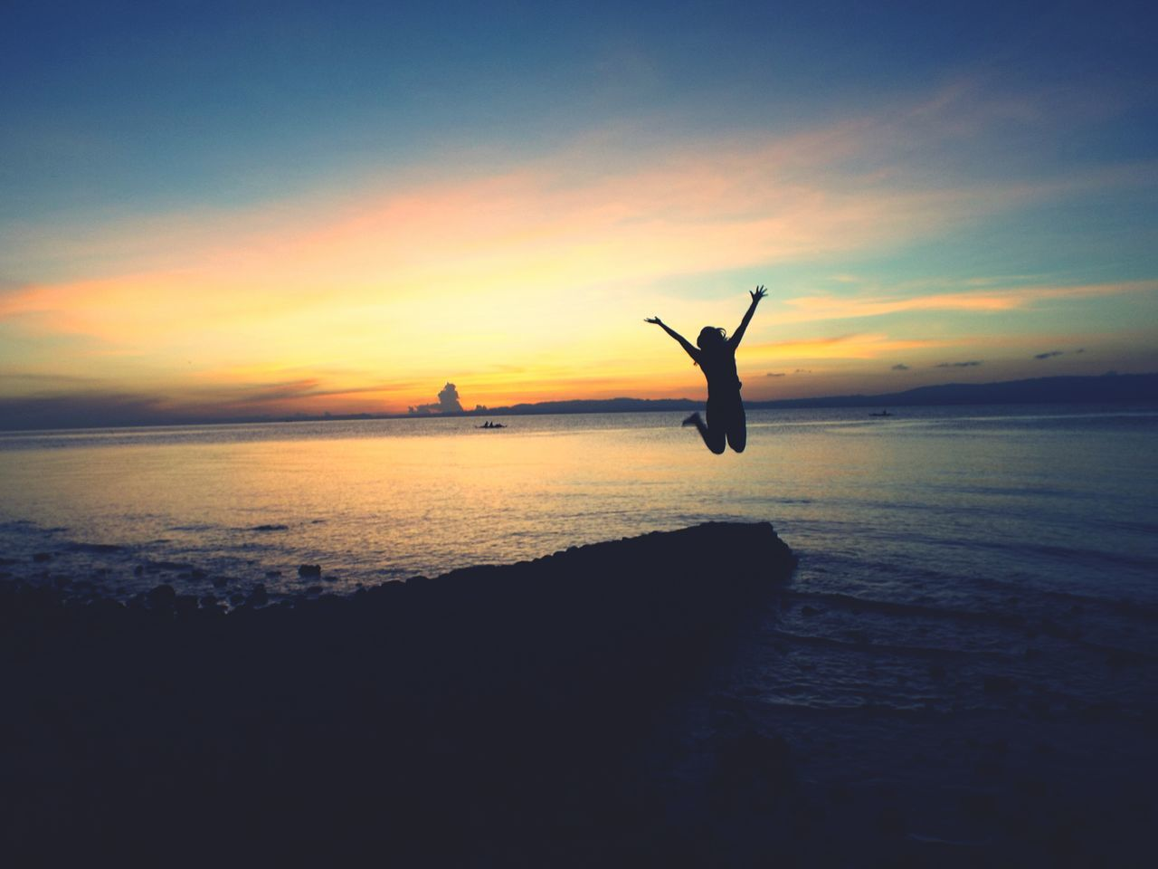 What Does Freedom Mean To You? Sunrise Silhouette Enjoying Life Naturesbeauty