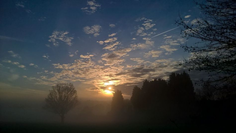 Misty Sunrise First Eyeem Photo