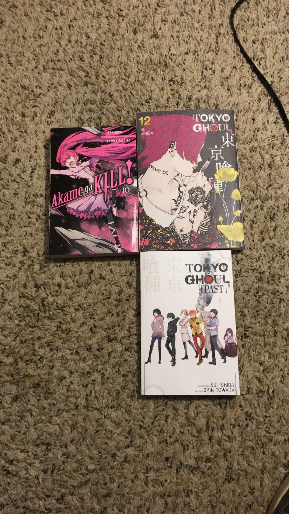 Manga Akame Ga Kill Akamegakill Akame Ga Kill! Tokyoghoul Tokyo Ghoul