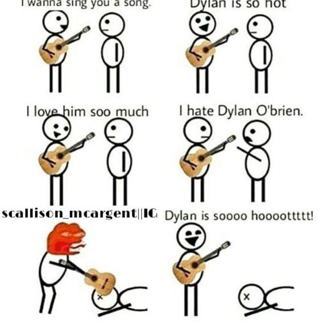 Dylan O'Brien  Teen Wolf Love Me